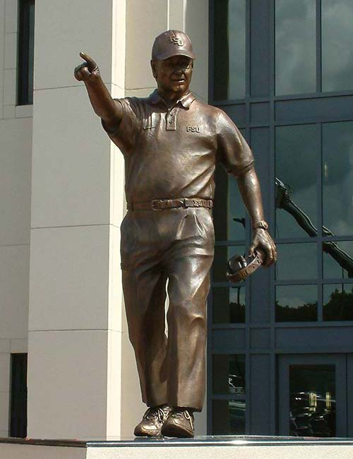Bobby Bowden sculpture